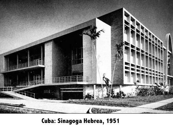 Sinagoga Hebrea 1951 Cuba Imagenes De Cuba Cuba La Habana