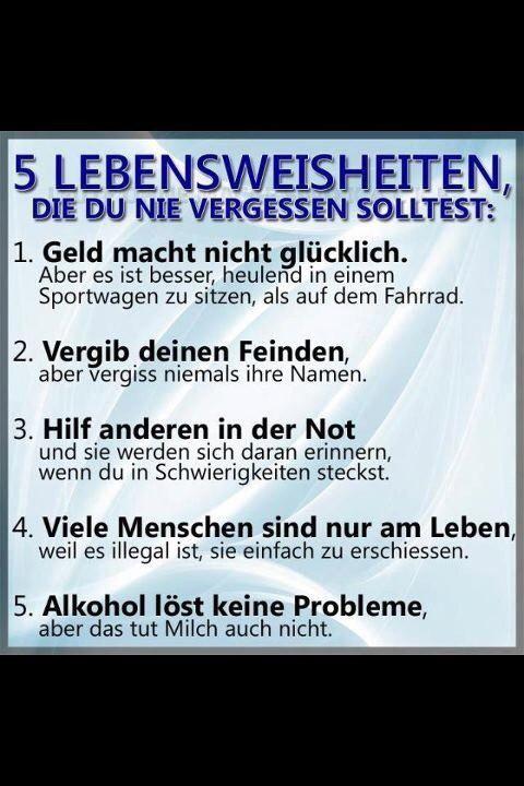 Tagesrandbemerkung So 9 April Followncm Lebensspruche Weisheiten Deutsche Zitate