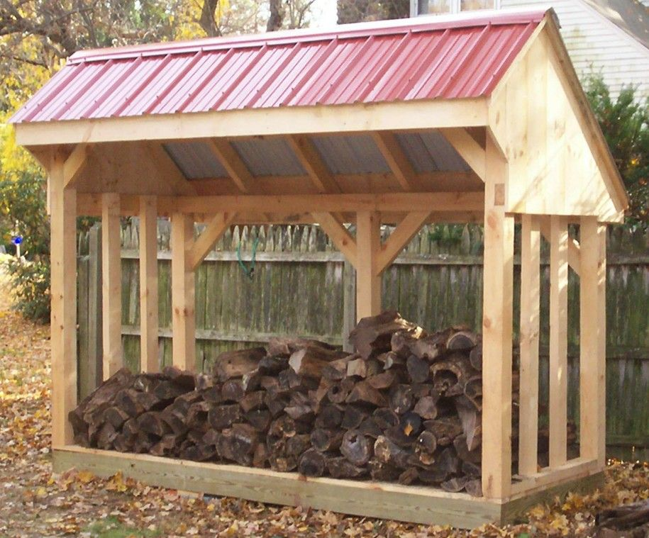 Appealing pictures of wood shed ideas design free for Wood storage building plans
