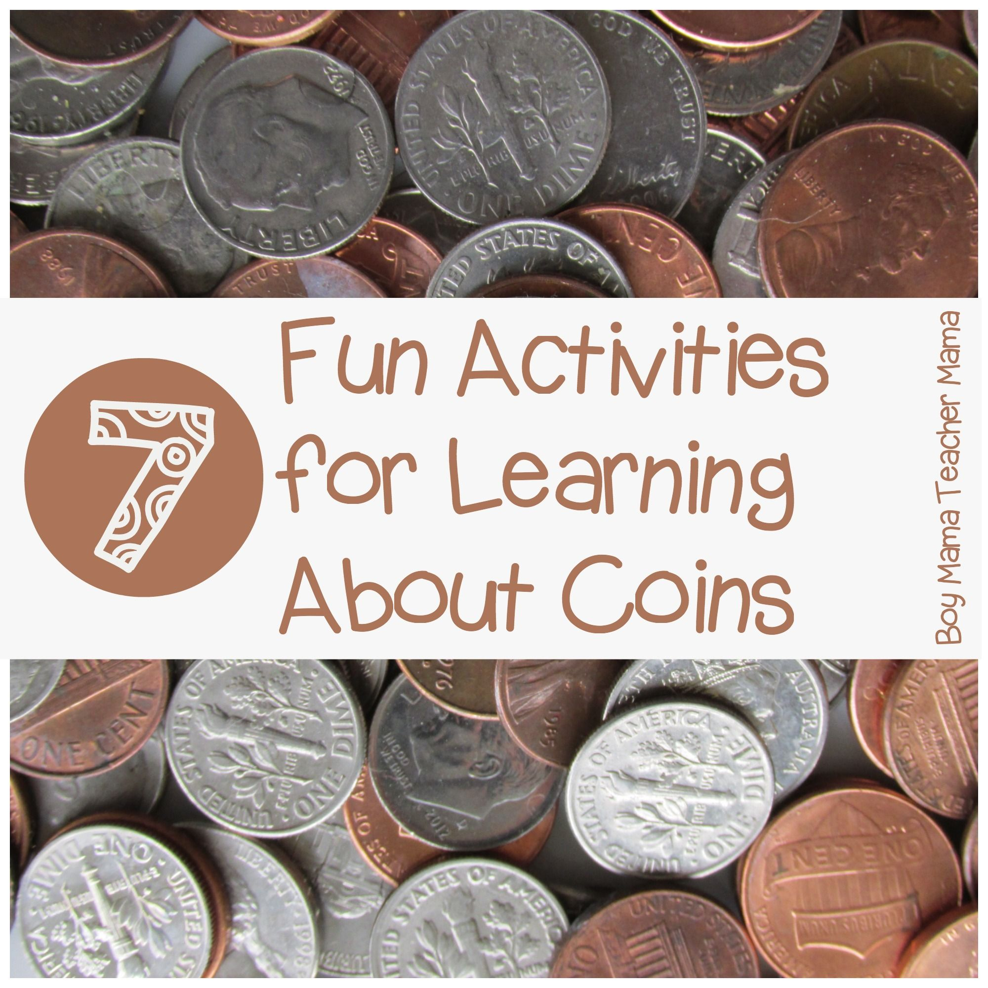 Teacher Mama 7 Fun Activities For Learning About Coins After