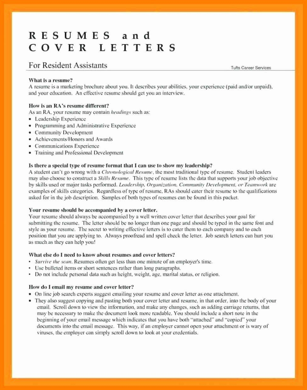 48++ Resident assistant resume objective ideas