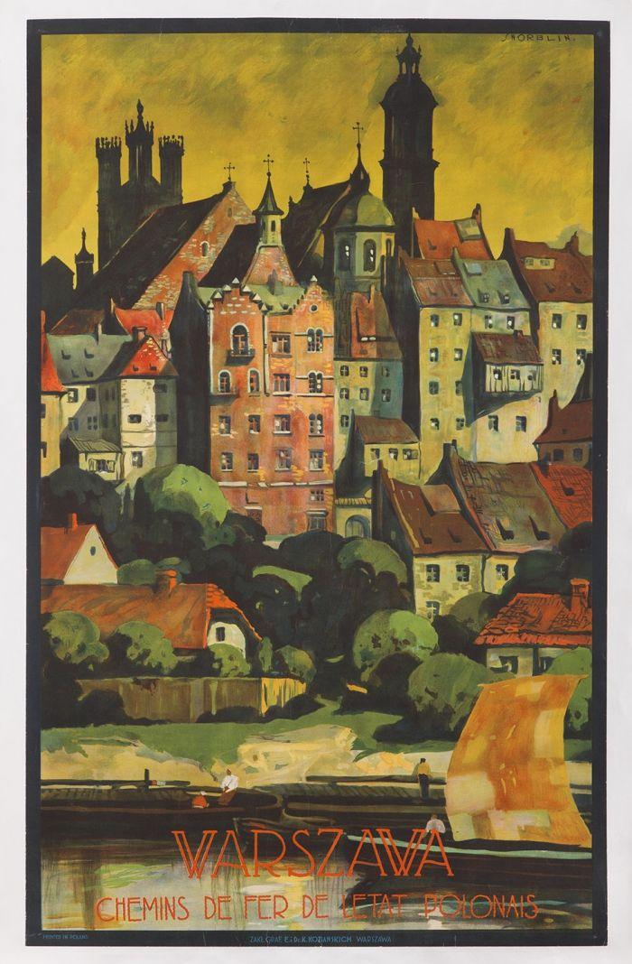 Stefan Norblin (1892 Warszawa - 1952 San Francisco) Warszawa ...