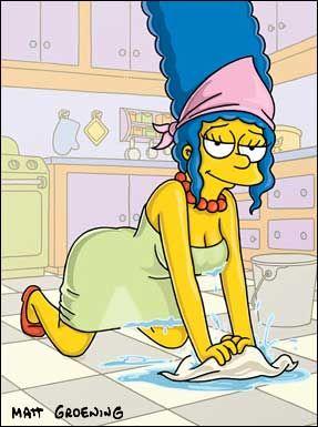 Los Hot SimpsonFlaming Cartoon Simpson Marge Ladies dxBoCre