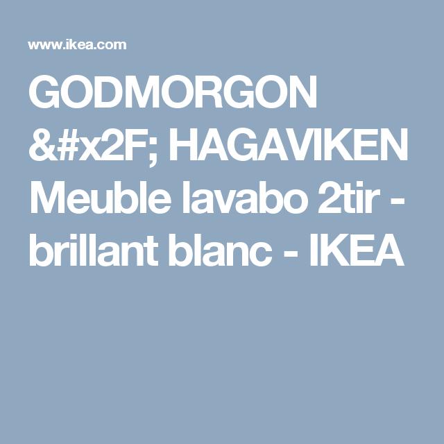 Godmorgon Meuble Lavabo 2tir Salle De Bain Ikea 15 Photos