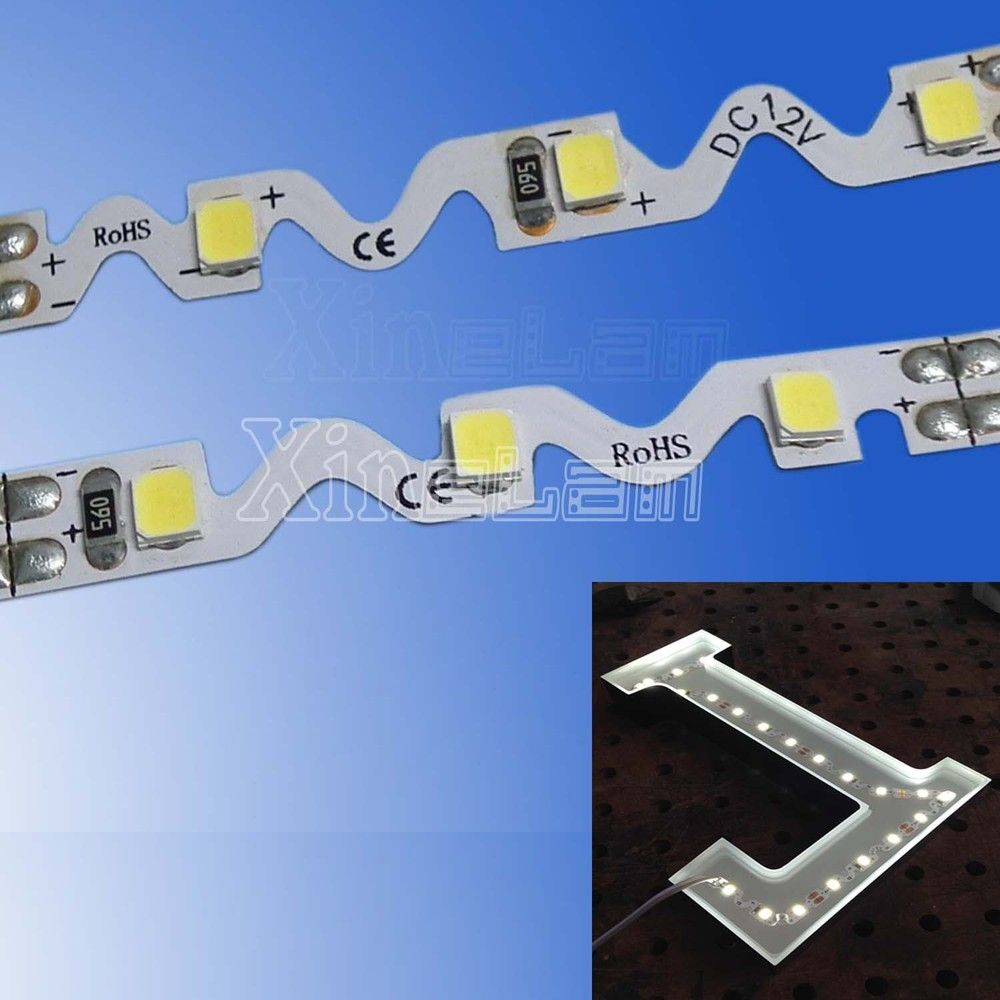S shaped 2835 led flexible strip s shape bendable flexible led s shaped 2835 led flexible strip aloadofball Image collections