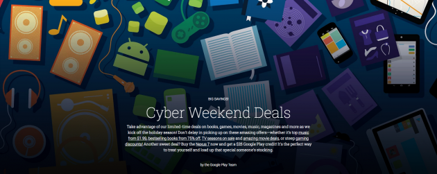 Google Launches Tens Of Black Friday Deals Under Cyber Weekend -  [Click on Image Or Source on Top to See Full News]