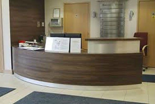 Wood Privacy Screen Reception Desk Google Search La