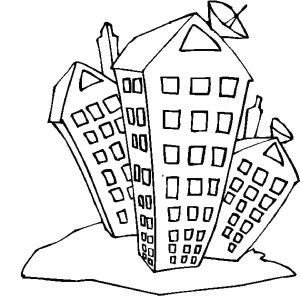 How to Draw Apartment Coloring Pages | Best Place to Color ...
