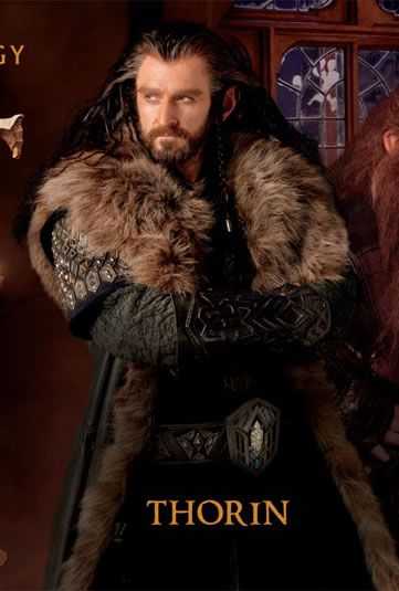 the hobbit: an unexpected journey (thorin oakenshield). i have to
