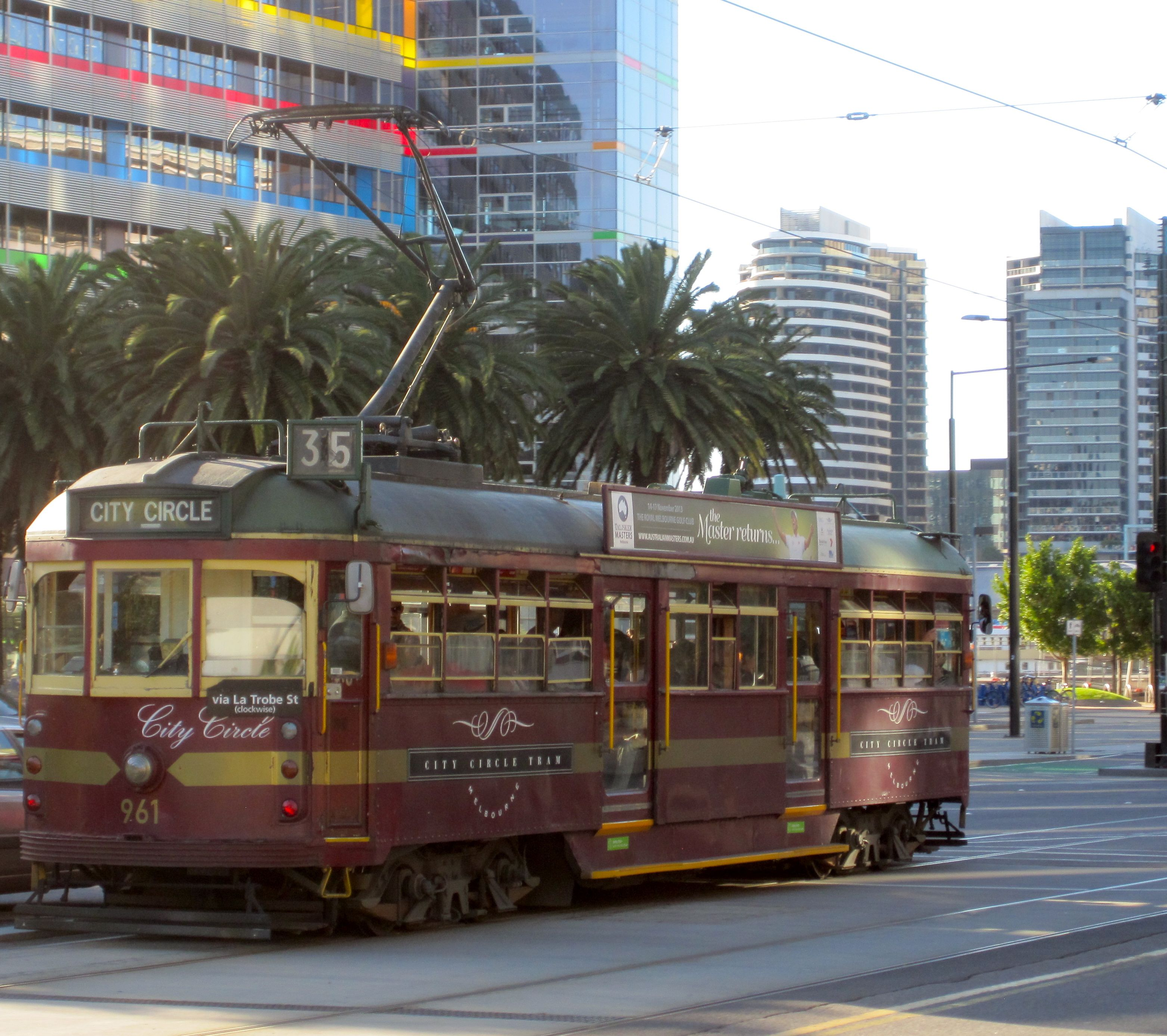 how to use melbourne free tram