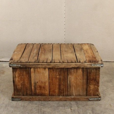 Loot vintage rentals antique shipping crate retail for Where do i find wooden crates