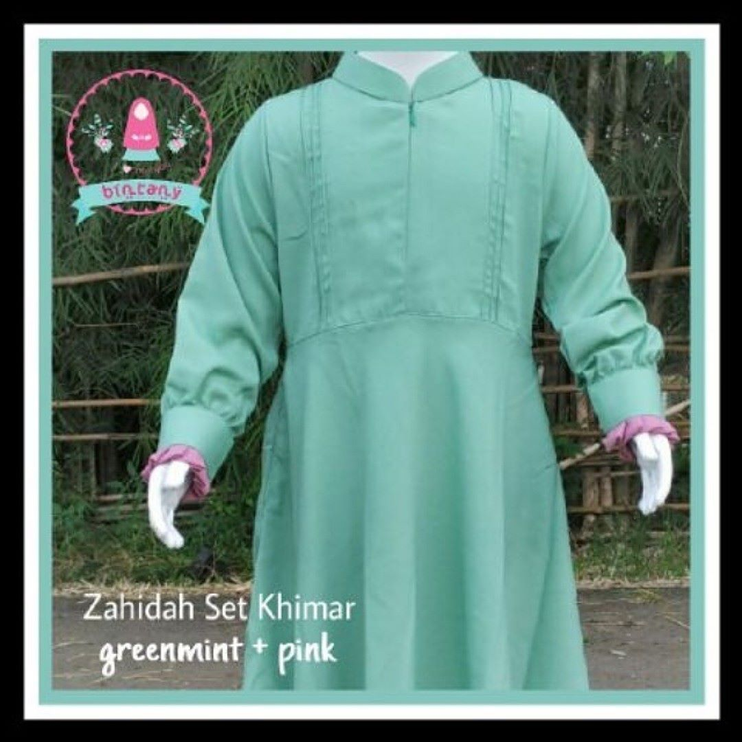 Zahidah Peach 249200 085643 191 876 Women Fashion Hijab Mosleem