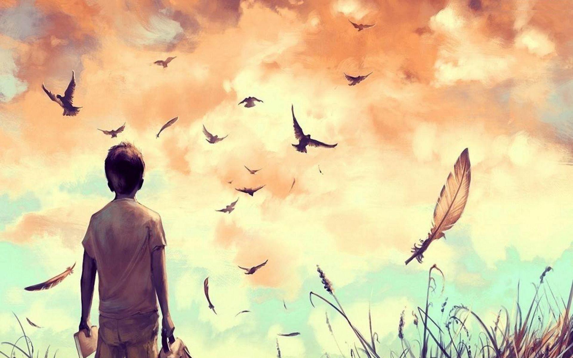Image Result For Birds Flying Painting Gtygyugggghgh Art
