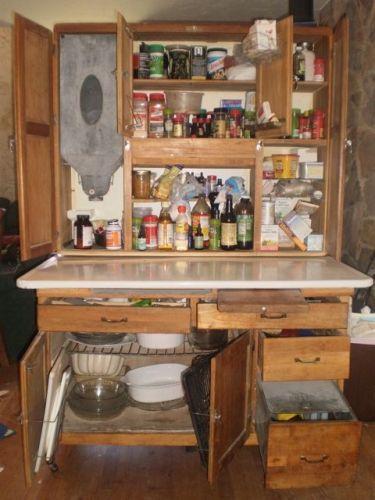 Dutch Napanee/Hoosier Style Kitchen Cabinet