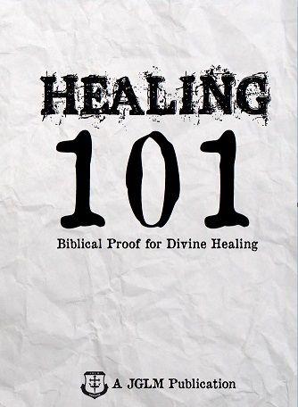 Healing 101 By Curry Blake (Booklet or PDF) – John G  Lake