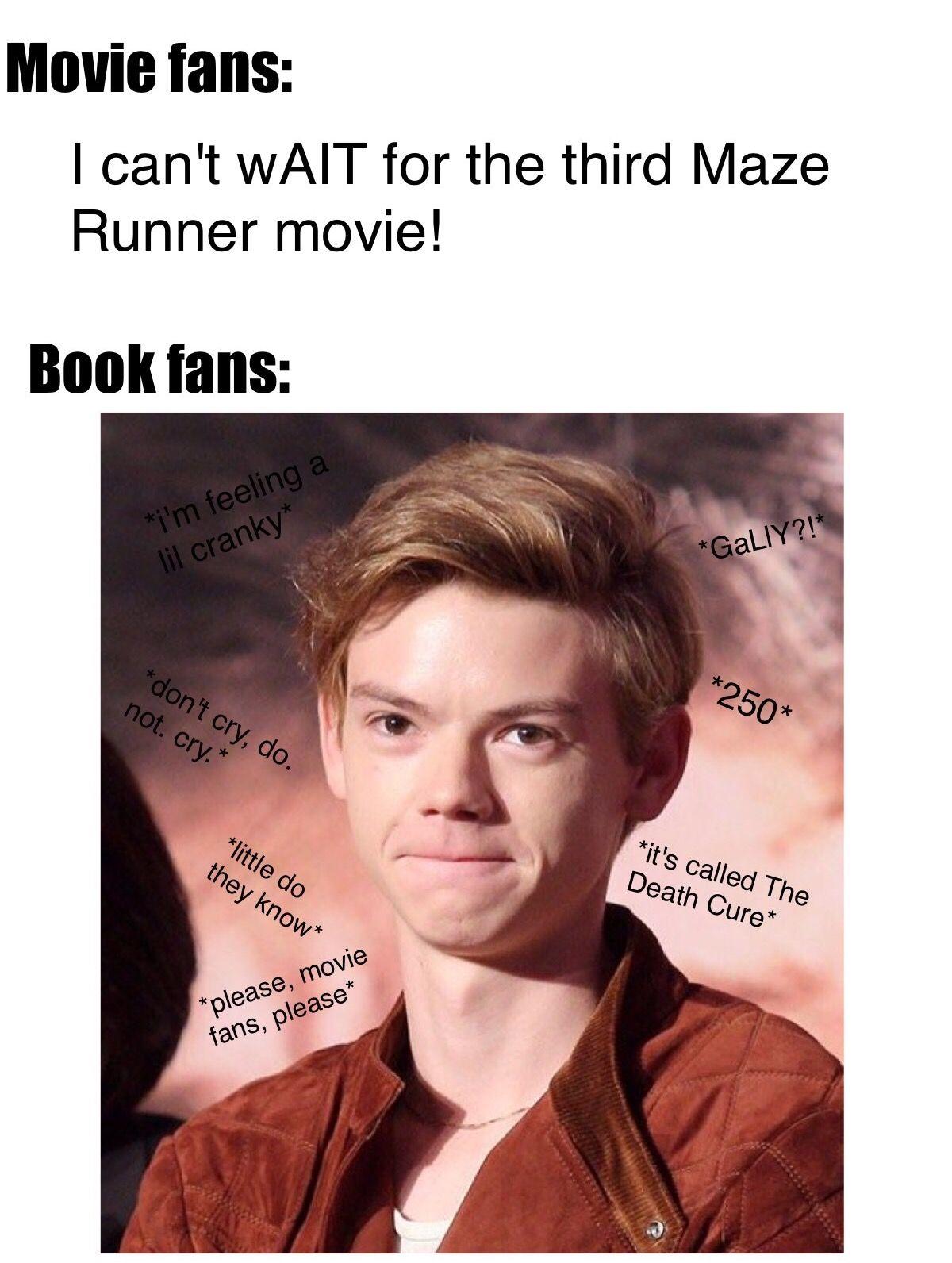 Why Newt Maze Runner Maze Runner Maze Runner Movie