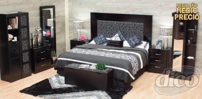 Picasso recamara casas espacios y muebles pinterest for Recamaras en muebles dico