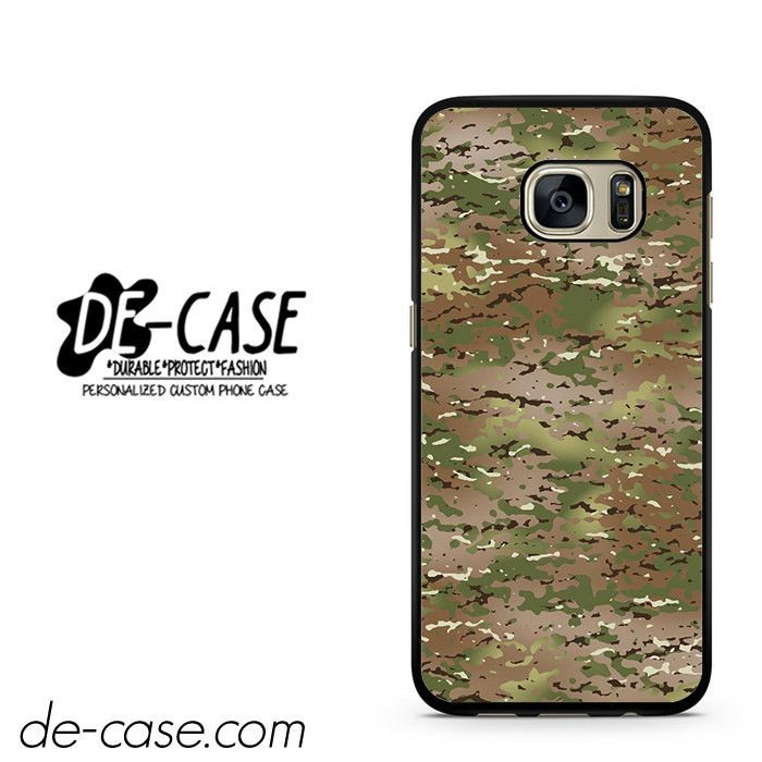 Army Cmufflage Case Army Pattern DEAL-960 Samsung Phonecase Cover For Samsung Galaxy S7 / S7 Edge