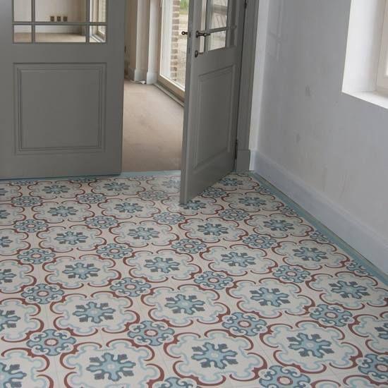 suelohidraulico  tile  Hallway flooring Hall flooring