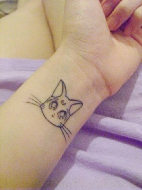 Pin By Vinyl Flowers On Lovely Things In Life Sailor Moon Tattoo Moon Tattoo Tattoos