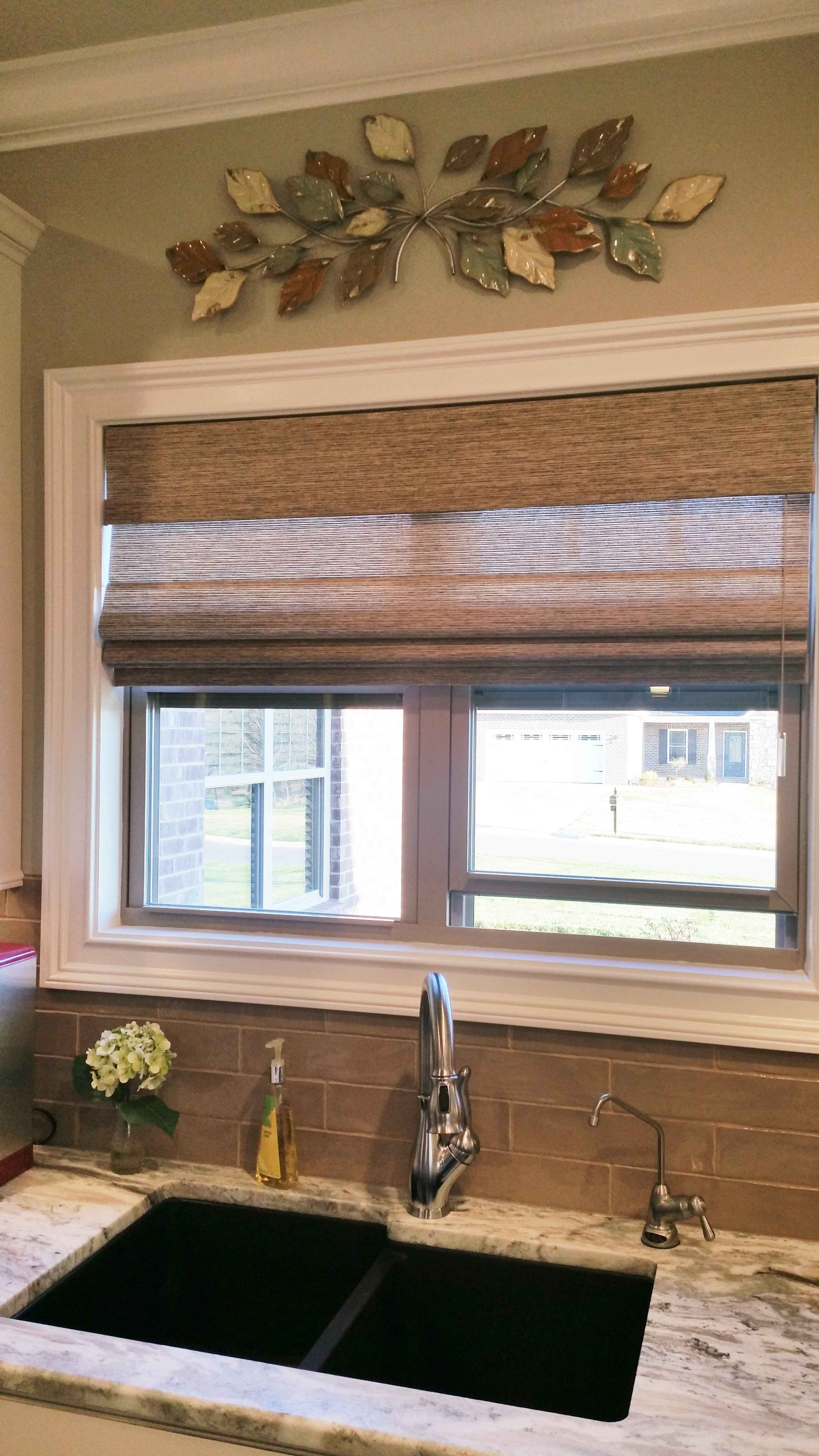 Copper Undermount Sink And Kitchen Window Treatments Kitchens And
