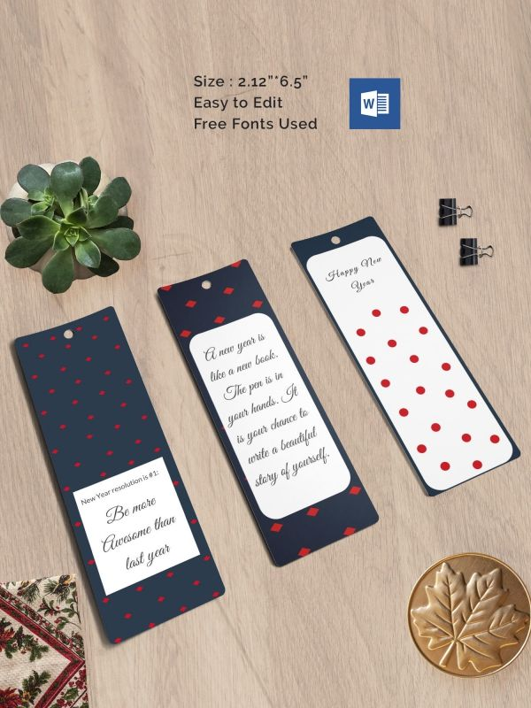 Blank Bookmark Template  Book Marks    Bookmark