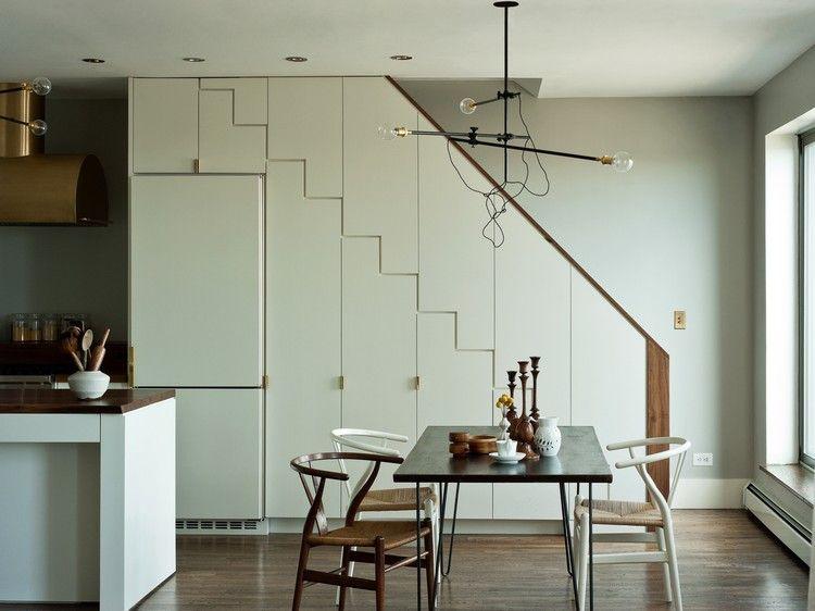 escalier gain de place et id es grande hauteur sous plafond project parking design. Black Bedroom Furniture Sets. Home Design Ideas