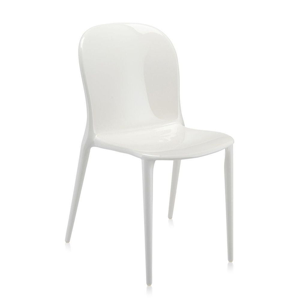 Discover the Kartell Thalya Mat Chair - White at Amara