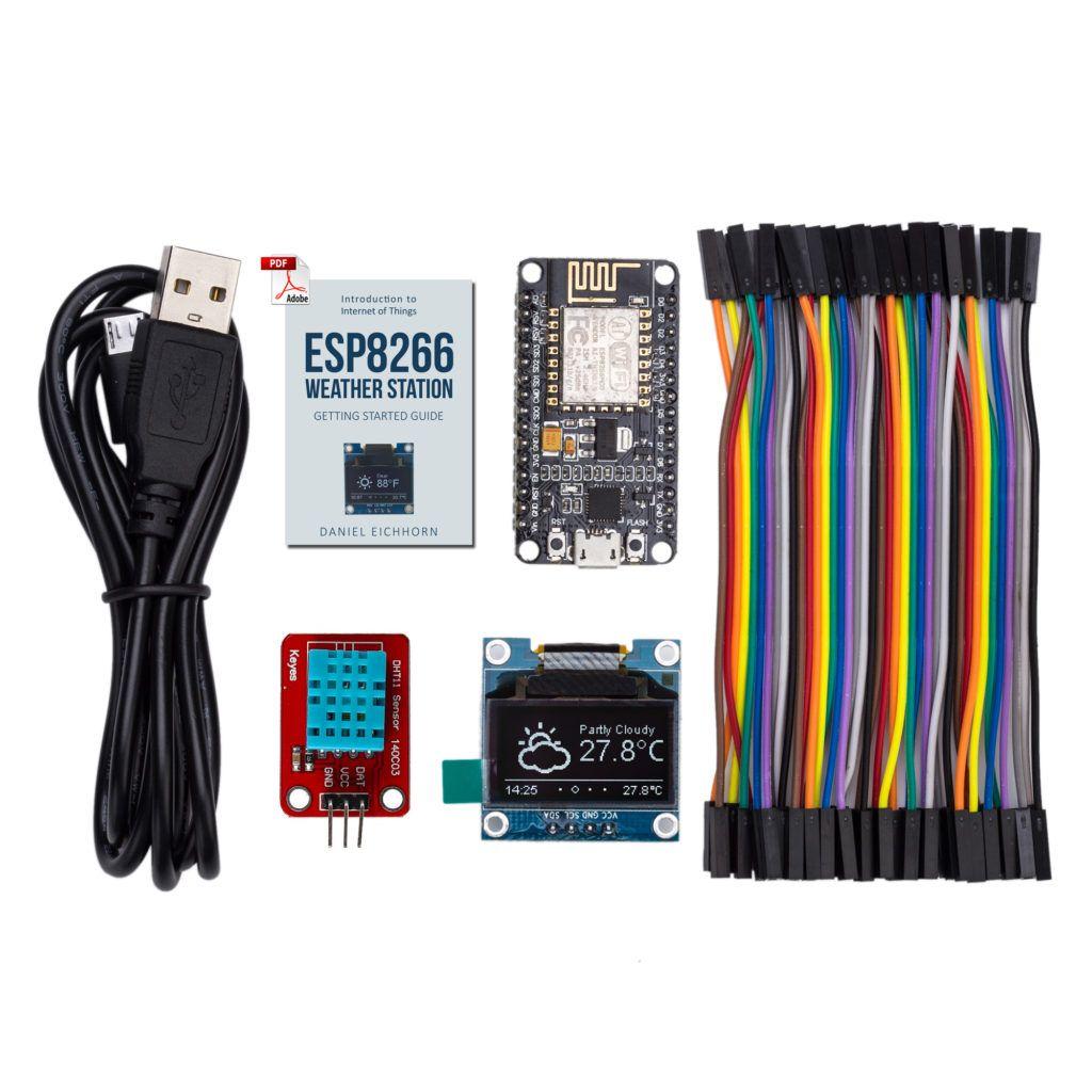 ESP8266 WiFi Color Display Kit 2 4