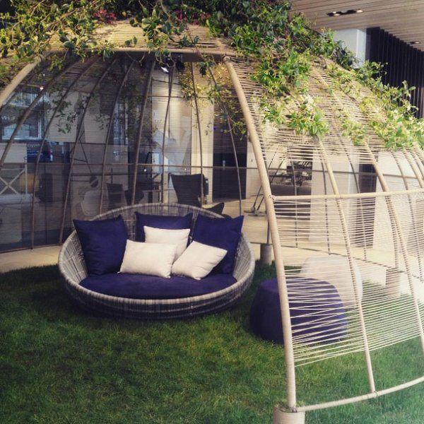Tipi et tente de jardin nos inspirations jardins vert et pierres Tente de jardin metro