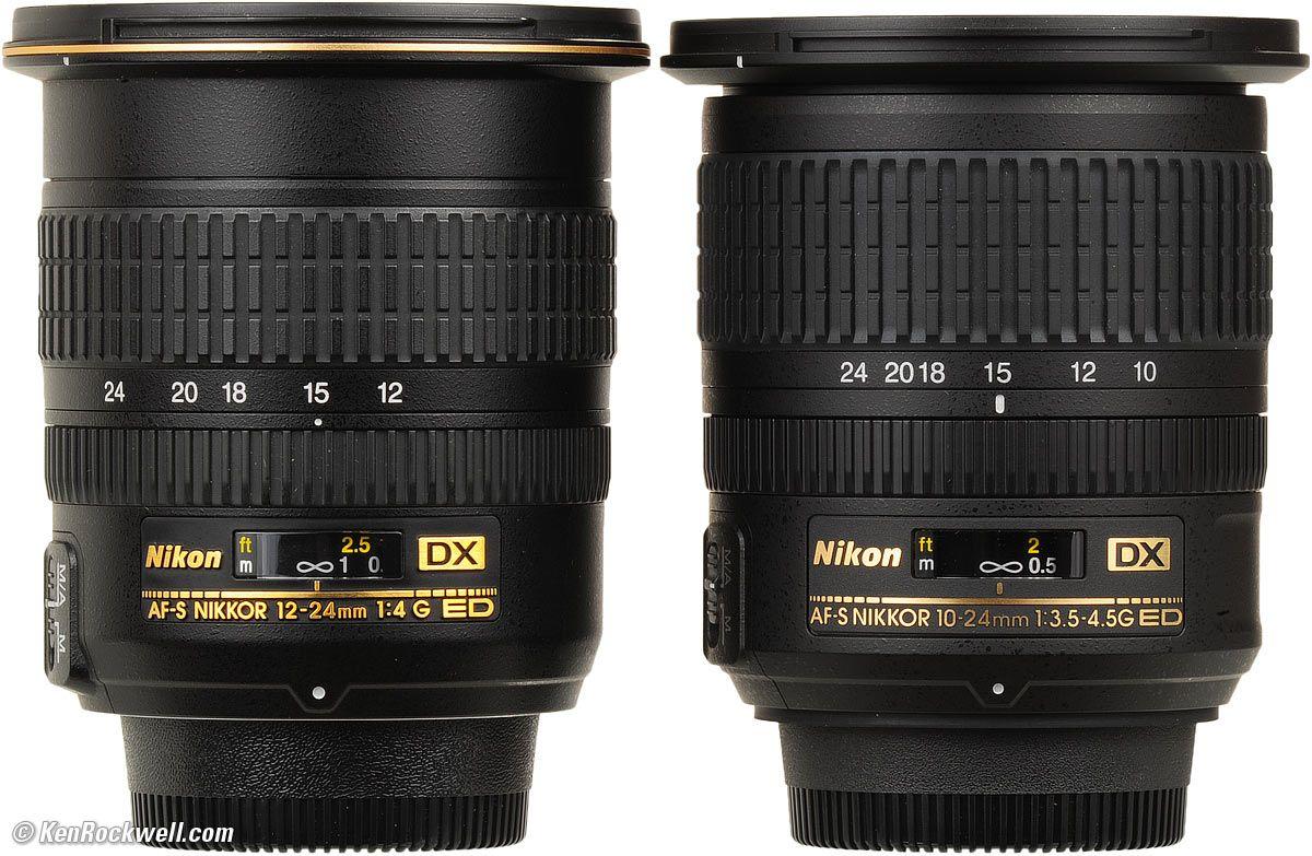 12 24 And 10 24mm Nikon Lenses Nikon Camera Photography