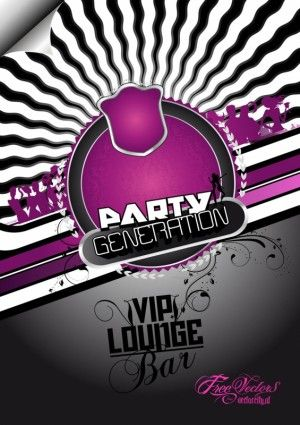 Night Party house music Projects to Try Pinterest Party flyer
