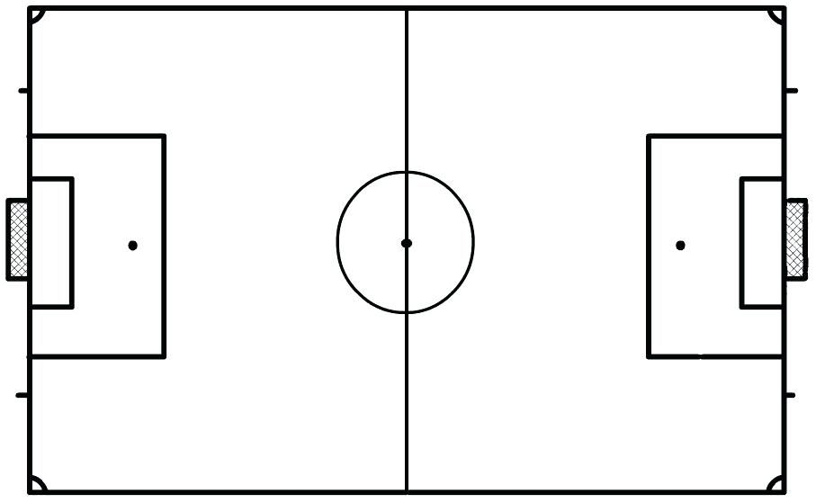Image Result For Www Football Pitch Drawing Black And White Consejos Para La Salud Futbol Fichas