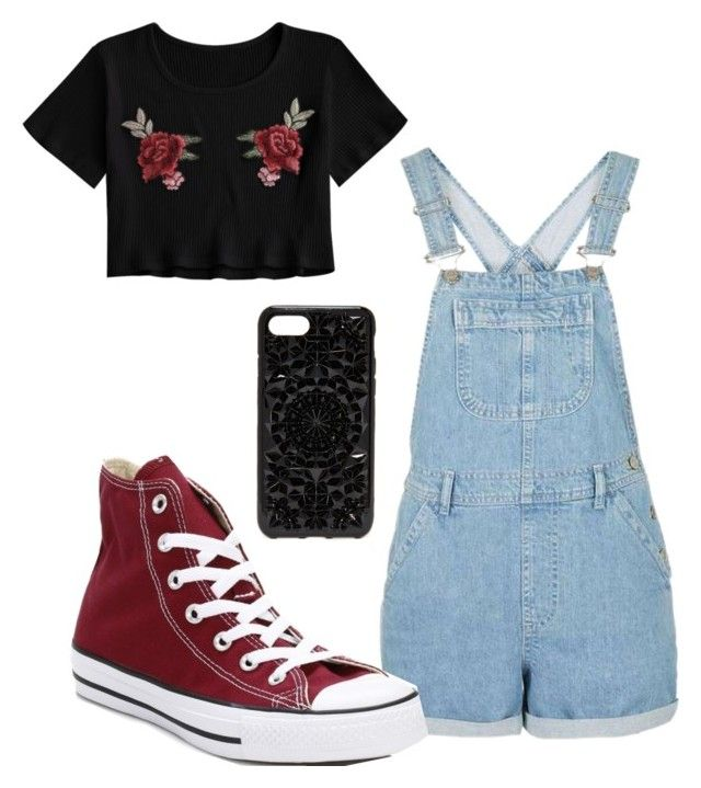 """SCHOOL #8"" by j1a1z1z1z ❤ liked on Polyvore featuring Converse and Felony Case"