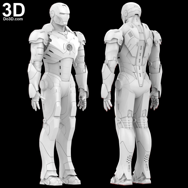 3D Printable Model: Iron Man Mark III Full Body Armor Suit