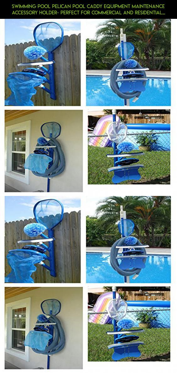 Swimming Pool Pelican Caddy Equipment Maintenance Accessory Holder Perfect For Commercial And Residential Pools