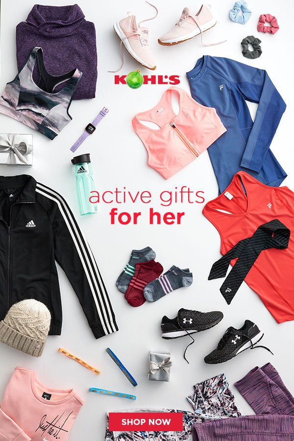 Find fitness gifts for her at Kohlu0027s. From tees hair bands and sports bras & Find fitness gifts for her at Kohlu0027s. From tees hair bands and ...