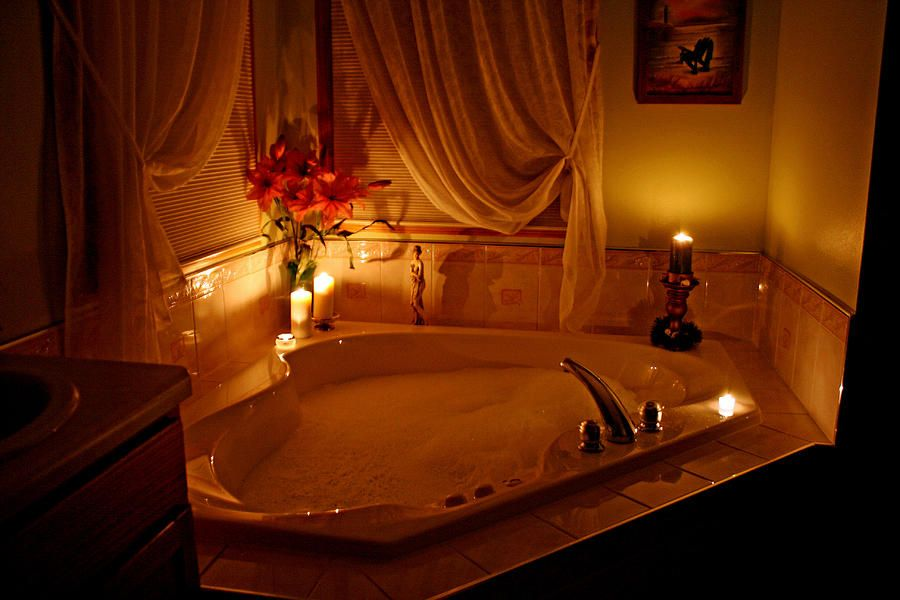 Romantic bubble bath fine art print now this is my dream for Romantic bedroom ideas with candles