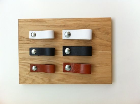 April and May: Win leather handles by NU interieur   ontwerp