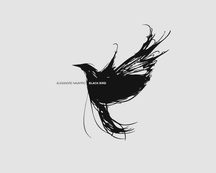 Tattoo idea. Blackbird outline with lyrics to the Beatles song ...