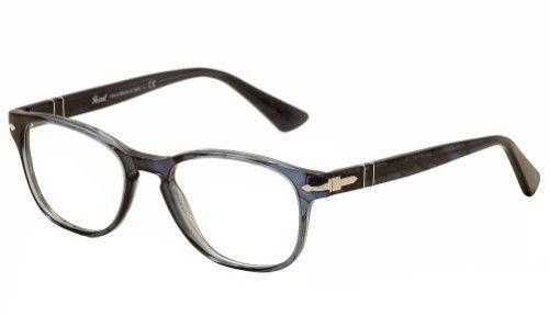 Persol Eyeglasses 3085V 3085/V 1031 Striped Blue Full Rim Optical ...