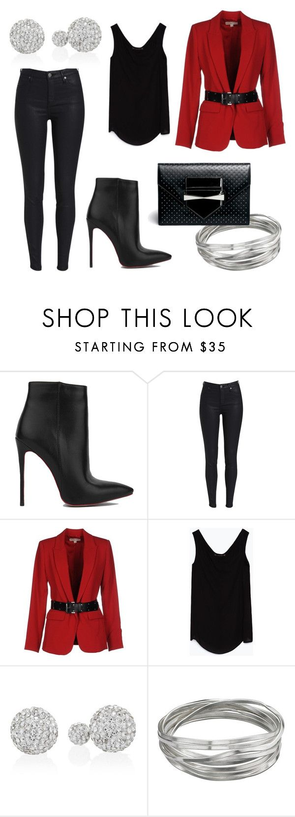 """""""So chic"""" by agustina-oliveras ❤ liked on Polyvore featuring Akira Black Label, MICHAEL Michael Kors, Zara, White House Black Market, Whistles and Alexander McQueen"""