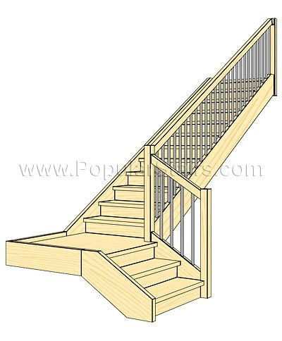 Staircases Of This Type Enable Rationale Use Of The Space