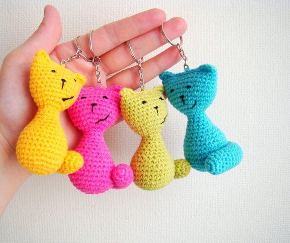 Crochet Pencil Keychain Amigurumi Free Pattern | 477x570