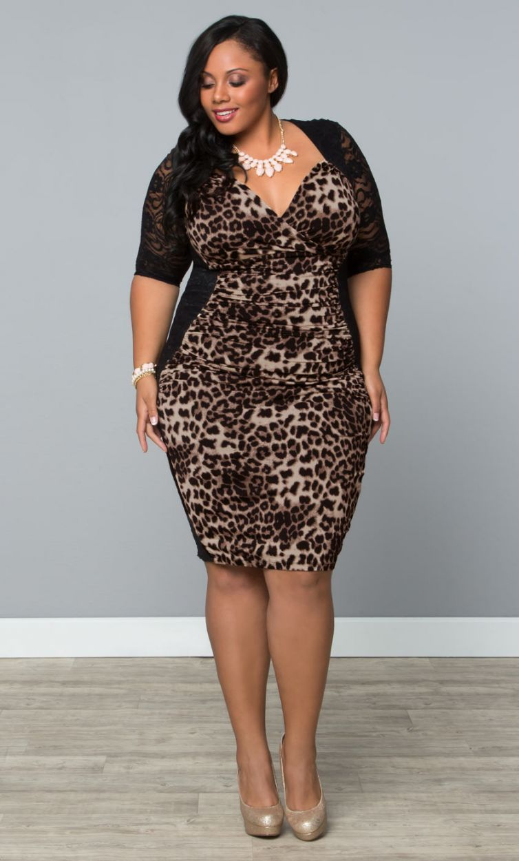 Stop And Stare Ruched Dress Leopards Fashion Shops And Curvy