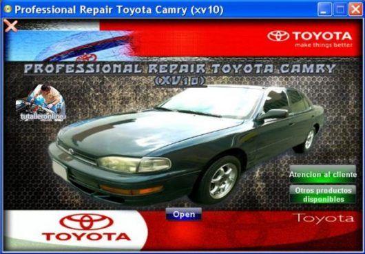 Manual De Taller Y Reparacion Toyota Camry Xv10 1992