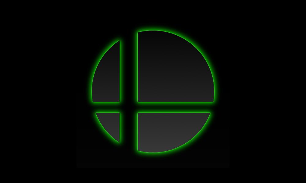 Super Smash Bros Wallpaper Green By Starjamlegend D6octfg Png 1000 600 Super Smash Bros Logo Super Smash Bros Smash Bros