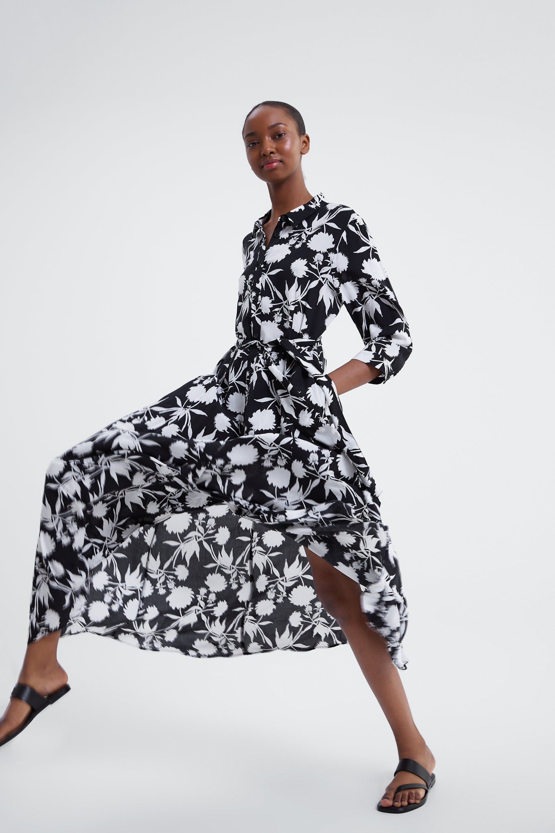 7c8bbd315293 Floral print dress in 2019