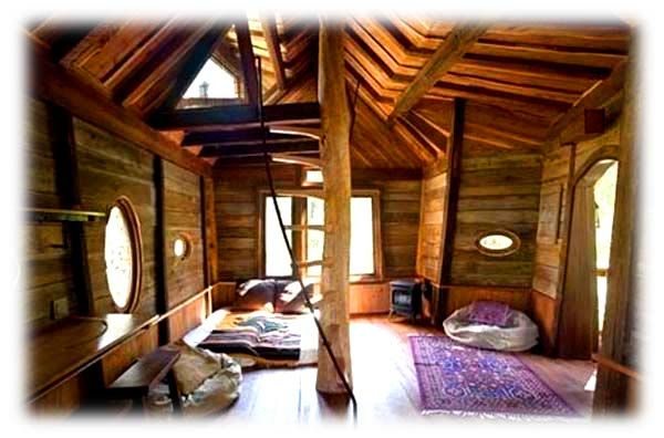 kids rustic treehouse | Treehouse Furniture | Treehouse Chairs, Beds,  Candles, Hammocks and