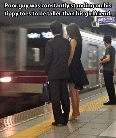 Tall boyfriend memes